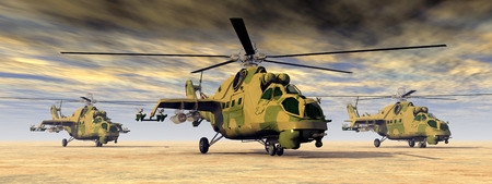 cold war: Soviet attack helicopters of the cold war