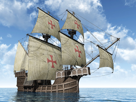 caravel: Portuguese Caravel of the Fifteenth Century