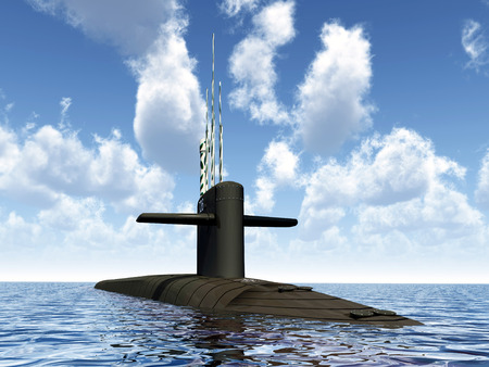 submarino: Submarino Foto de archivo