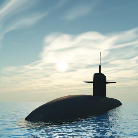 cold war: Submarine 3d