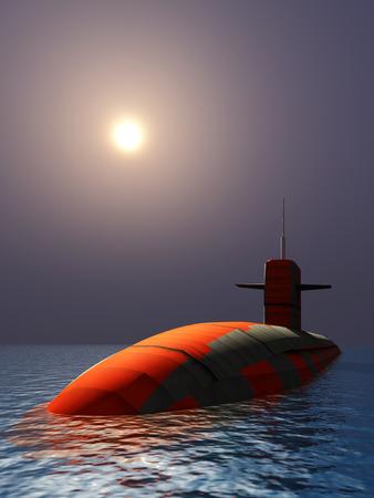 cold war: 3d Submarine