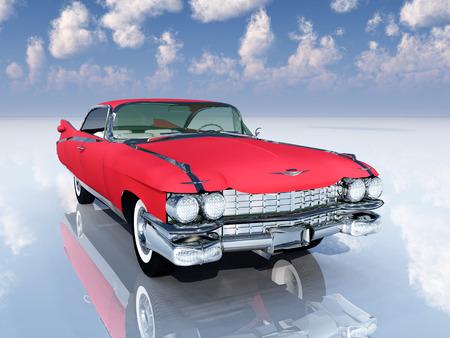 coche clásico: Classic Car