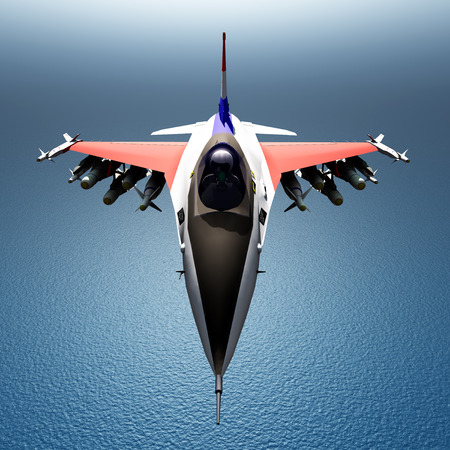 us military: Fighter Plane Stock Photo