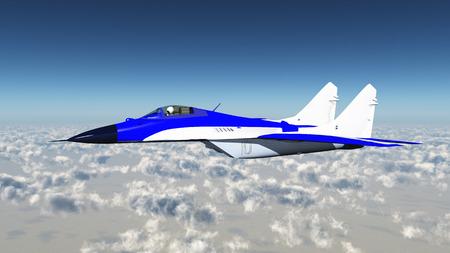 avion chasse: Avion de chasse russe Banque d'images