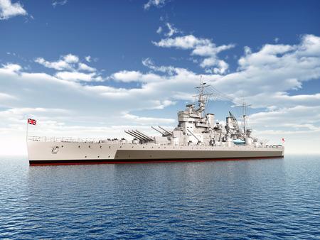 ww2: British warship of WW2