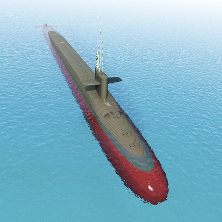 cold war: Modern Submarine