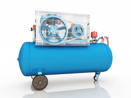 compressed air: Air Compressor Stock Photo