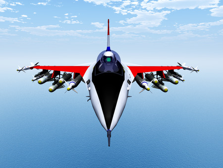 fighter plane: Fighter Plane Stock Photo