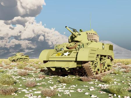 world war 2: American light tanks of World War 2