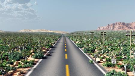 Route 66 in de VS