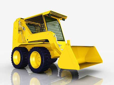 loader: Skid-Steer Loader