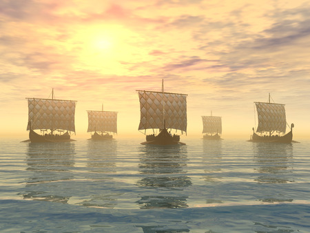 Viking schepen