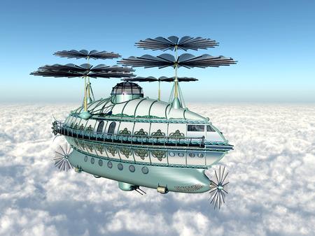 ballon dirigeable: Fantastique Airship