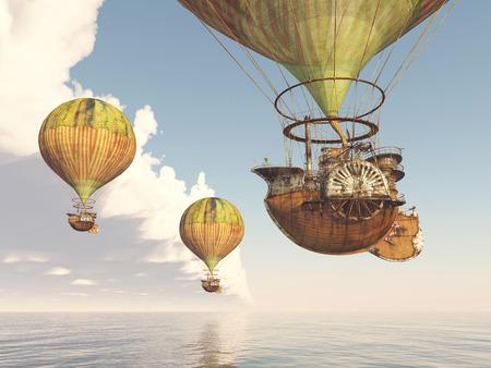 ballooning: Fantasy Hot Air Balloon