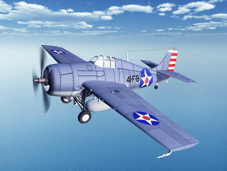 us military: American fighter plane of World War II