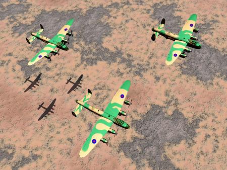 world war ii: British heavy bombers of World War II