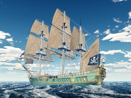 corvette: Pirate ship of the 18th century