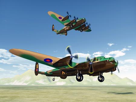 ww2: British heavy bombers of World War II