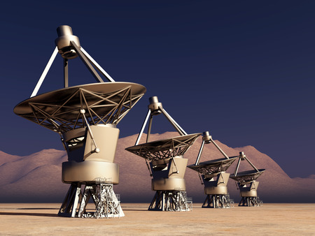 cosmology: Giant telescopes