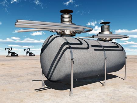 pumps: Fuel depot and oil pumps