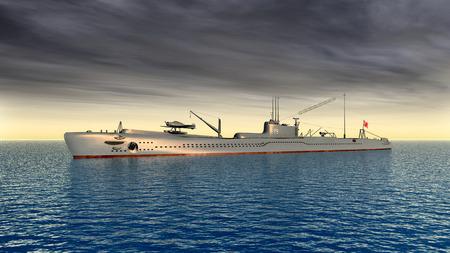 world war ii: Japanese submarine of World War II