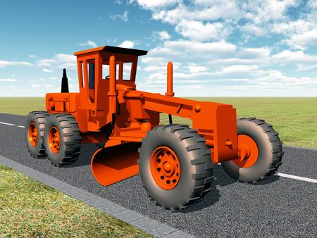 industrial vehicle: Grader