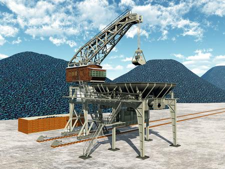 Coal transfer station