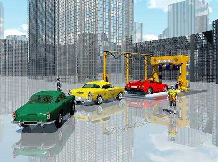 carwash: Car wash