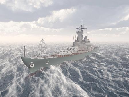 seconda guerra mondiale: corazzata americana della seconda guerra mondiale