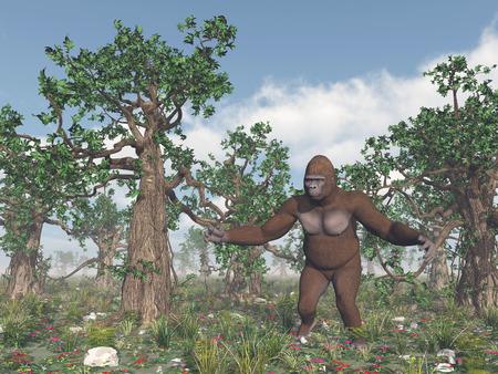 bigfoot: Bigfoot in the wild
