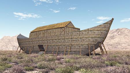 Arca de Noé  Foto de archivo
