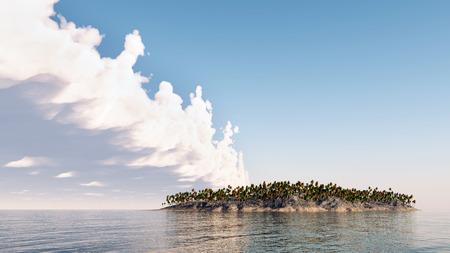 Threatened Paradise Reklamní fotografie