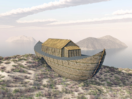noahs: Noahs Ark on Mount Ararat
