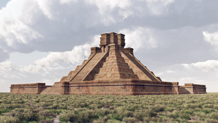 mayan culture: Mayan Temple