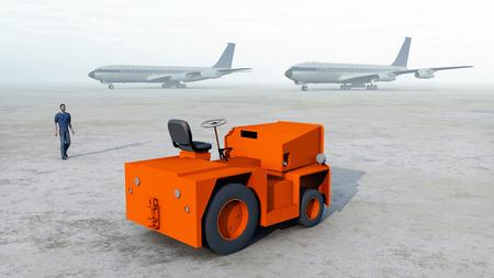 tug: Baggage tug