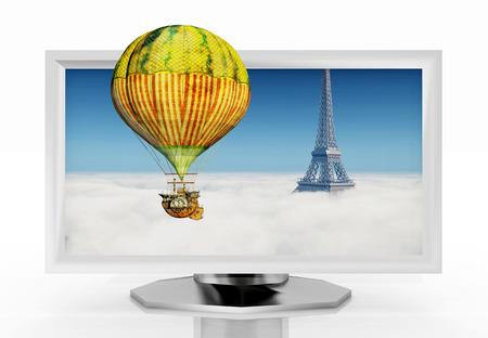 3d: 3D TV