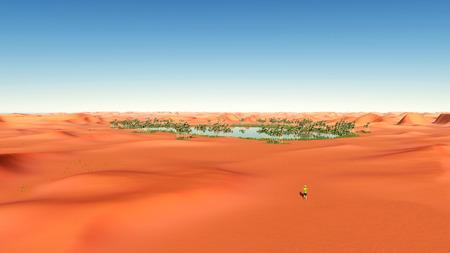 deserts: Oasis in the desert