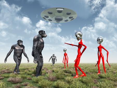 hombre prehistorico: Los extranjeros descubren en la Tierra Homo Habilis