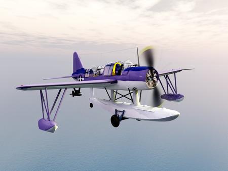 American observation floatplane of World War II Stock fotó