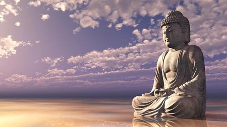 buddha statue: Statue of Buddha