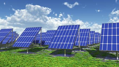 electricity prices: Solar power plant