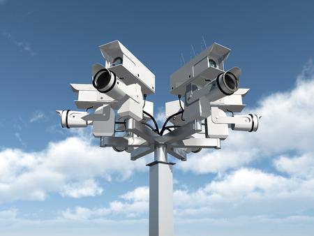 security company: Surveillance camera