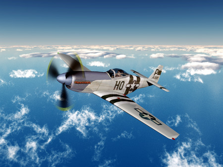 ww2: American fighter bomber of World War II