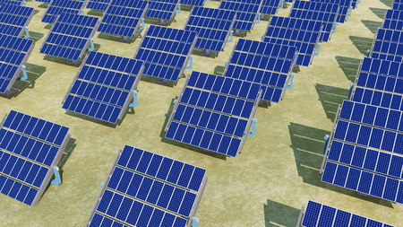 solar power: Solar power station
