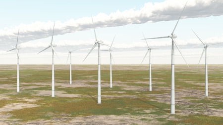 wind energy: Wind turbines