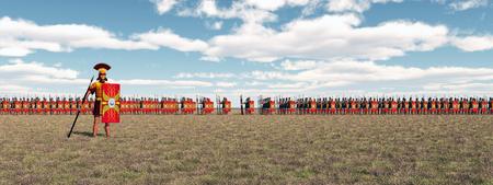 ローマ軍団 写真素材
