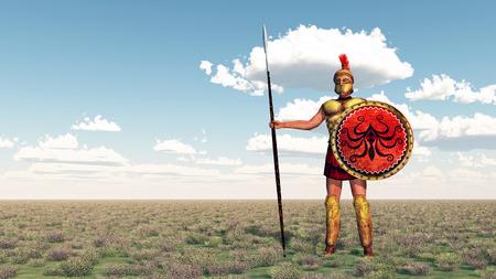 homer: Hoplite of ancient Greece