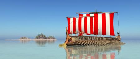 homer: Ancient Greek Warship