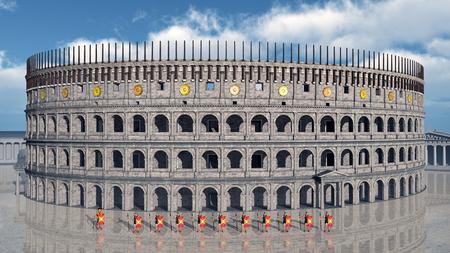 roma antigua: Coliseo de Roma antigua