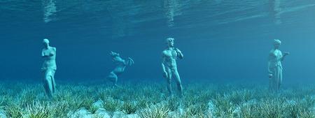 ocean floor: Underwater archaeology